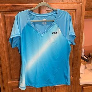 Blue Athletic Tshirt-Size XL